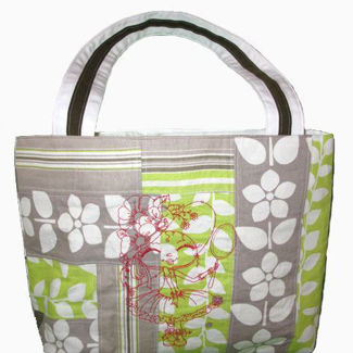 """Picture of Beach/Tote Bag - """"Mirror Mirror"""""""