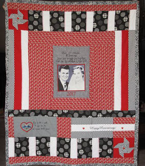 Picture of Quilt - Wedding Anniversary