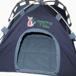 "Picture of Cat Tent ""Camping Félin"" - Male"