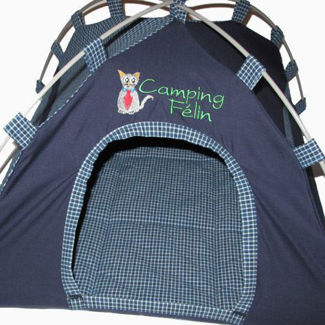 """Picture of Cat Tent """"Camping Félin"""" - Male"""