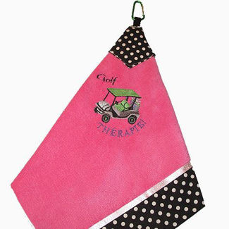 "Picture of Golf Towel ""Golf THÉRAPIE"""