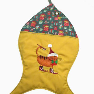 Picture of Christmas Stocking - Cat