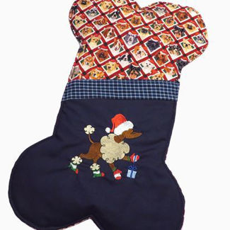 Picture of Christmas Stocking - Dog
