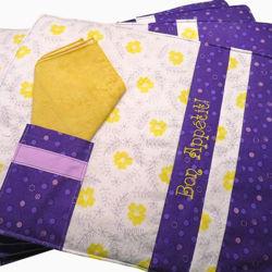 Image de Ensemble de napperons et serviettes