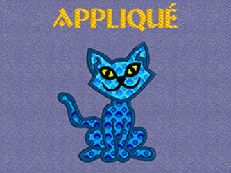 Picture for category Appliqués