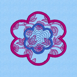 Picture of EMB-Flower-Appliqué