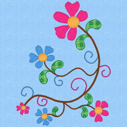 Image de EMB-fleur spirales