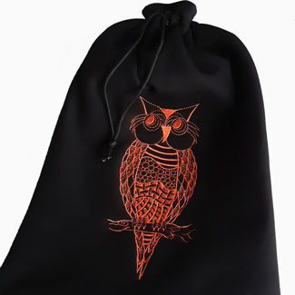 Picture of Owl Shoe Bag