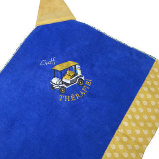 """Picture of Golf Towel """"Golf THÉRAPIE"""""""