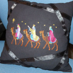 Picture of Night Divine Pillow