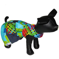 Picture of Dog Dress - Brightful Lattice