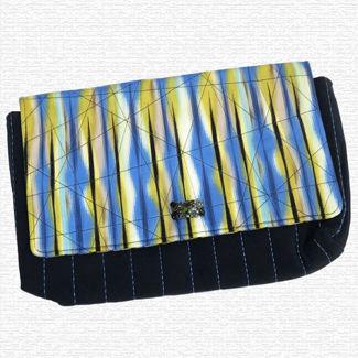 Picture of Clutch Bag - Blue Tones